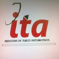 Photo taken at ITA Industria de Tubos Automotivos by Renato S. on 5/8/2013