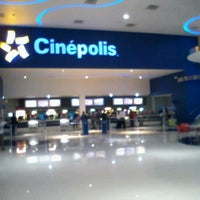 Photo taken at Cinépolis by Francisco T. on 10/3/2012