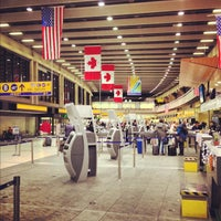 Photo taken at Calgary International Airport (YYC) by Cody S. on 10/31/2012