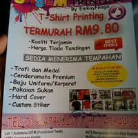 Photo taken at ohsem printing by Shukor F. on 5/4/2014