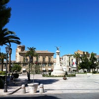 Photo taken at Piazza Rossetti by Alfred C. on 8/1/2013
