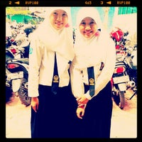 Photo taken at Sman 7 Banjarmasin by Hana H. on 10/26/2012