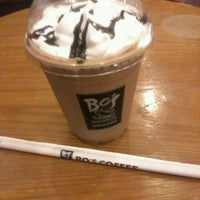 Photo taken at Bo's Coffee by Rhodz P. on 1/19/2013