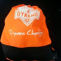 Photo taken at Houston Dynamo Offices by Soleil W. on 1/25/2013