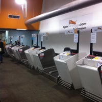 Photo taken at T4 (Domestic - Tiger Airways) Terminal by Lauren on 5/24/2013