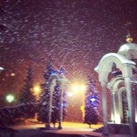 Photo taken at Часовня иконы Божией Матери «Всех скорбящих Радость» by Taras M. on 12/8/2012