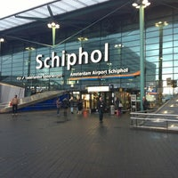 Photo taken at Amsterdam Airport Schiphol (AMS) by Yury on 11/2/2013