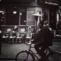 Photo taken at Les Philosophes by Anastasia on 4/22/2013
