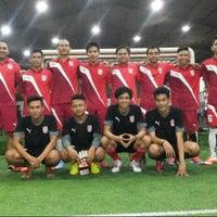 Photo taken at De Futsal by Reza M. on 4/28/2014