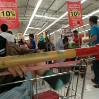 Photo taken at Carrefour by Dian r. on 7/31/2016
