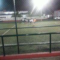 Photo taken at Unidad Deportiva Bicentenario (CREA) by jhoanna l. on 6/4/2013