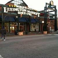 Photo taken at Lexington Market by Militarybabe on 1/19/2013