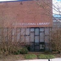 Photo taken at North Regional Library by CJLM C. on 1/10/2013