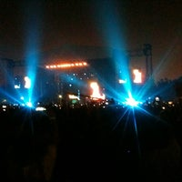 Photo taken at Arena Anhembi by André L. on 10/8/2012