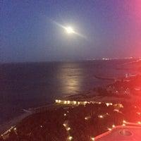Photo taken at Jumeirah Bilgah Beach Hotel (Tez Bazaar) by Еленочка K. on 5/10/2017