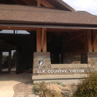 Photo taken at Elk Country Visitor Center by Joshua on 9/29/2012