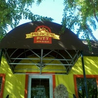 Photo taken at Pierce's Pitt Bar-B-Que by Valerie P. on 10/14/2012