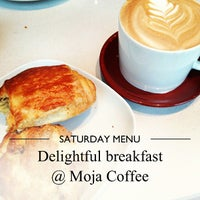 Photo taken at Moja Coffee by Mel on 5/18/2013