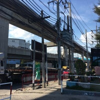 Photo taken at MEA Samut Prakan Intersections by natthanicha O. on 12/24/2016