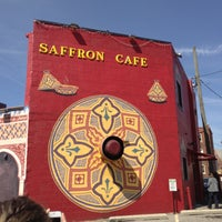 Photo taken at Saffron Cafe by Mark S. on 4/21/2013