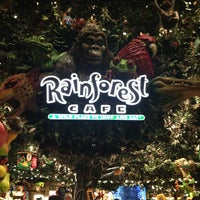 Photo taken at Rainforest Cafe by Mark S. on 3/3/2013