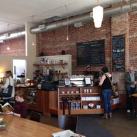 Photo taken at Victrola Cafe and Roastery by Mark E. on 4/16/2013