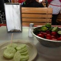 Photo taken at Tacos el Frances by Gethsemani G. on 2/9/2013