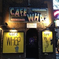 Photo taken at Cafe Wha? by Greg L. on 7/12/2013