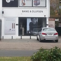Photo taken at Bang & Olufsen by Jo L. on 5/2/2014