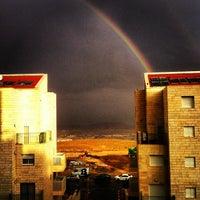 Photo taken at Ma'ale Adumim by Artem Z. on 1/5/2013