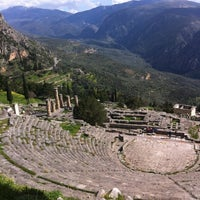 Photo taken at Archaeological Site of Delphi by Kagia E. on 2/23/2013