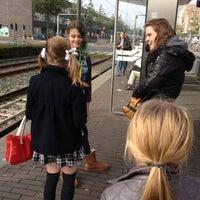 Photo taken at Tramhalte Vennepluimstraat by Iris v. on 10/23/2012