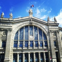 Photo taken at Paris Nord Railway Station by JP V. on 5/22/2013
