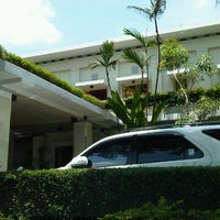 Photo taken at The Graha Cakra Hotel by Dedi W. on 11/12/2012