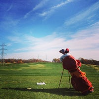 Photo taken at Blue Mash Golf Course by Andrew on 11/9/2014