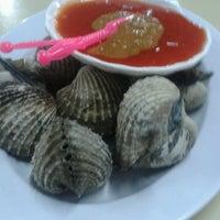 """Photo taken at Santiga Seafood """"Abeng"""" Benhil by Erwin Edisyah P. on 10/16/2012"""
