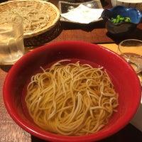 Photo taken at そば 柿ざわ by Yoshiteru T. on 11/29/2014