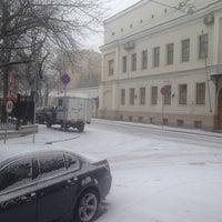 Photo taken at Большой Лёвшинский переулок by Roman L. on 3/19/2014