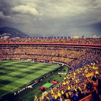 Photo taken at Estadio Universitario by Jovani V. on 5/12/2013