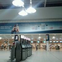 Photo taken at Stavanger Airport Sola (SVG) by Vyacheslav K. on 3/8/2013