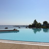 Photo taken at Pool @ Hyatt. by Suzanne on 6/23/2014