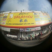 Photo taken at Pasaraya Salamku by Zulaikha Z. on 12/11/2013