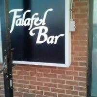 Photo taken at Falafel Bar by Lola W. on 5/4/2013