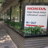 Photo Taken At Asian Honda Motor Co Ltd By Zerochaphil O On