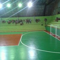 Photo taken at Ginásio Poliesportivo Francisco Limonti by Fabio H. on 1/21/2013