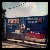 Photo taken at Autocinema El Coyote by Erik D. on 9/17/2012