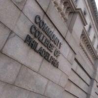 Photo taken at Community College of Philadelphia by Darryl C. on 10/4/2012