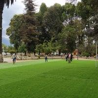 Photo taken at Plaza De Graneros by Julieta M. on 2/9/2013