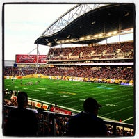 Photo taken at Investors Group Field by Edgar R. on 6/28/2013