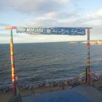 Photo taken at Park Morjana by Mahdi N. on 1/28/2014